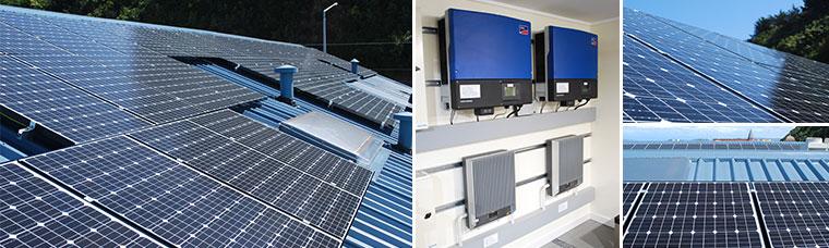 solar array installed at wellington head office case. Black Bedroom Furniture Sets. Home Design Ideas