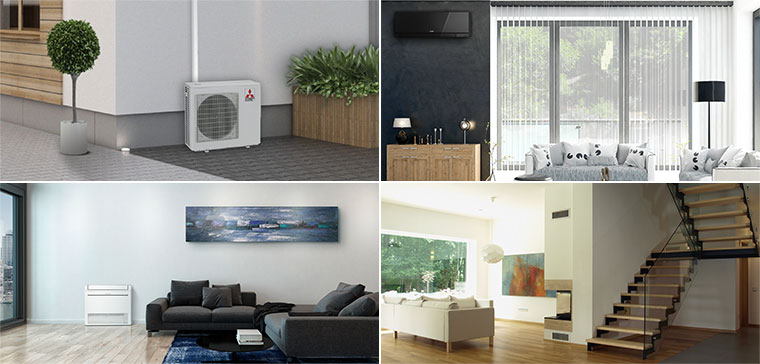 65401aa5a54 Multi Room Heat Pump Systems    Mitsubishi Electric