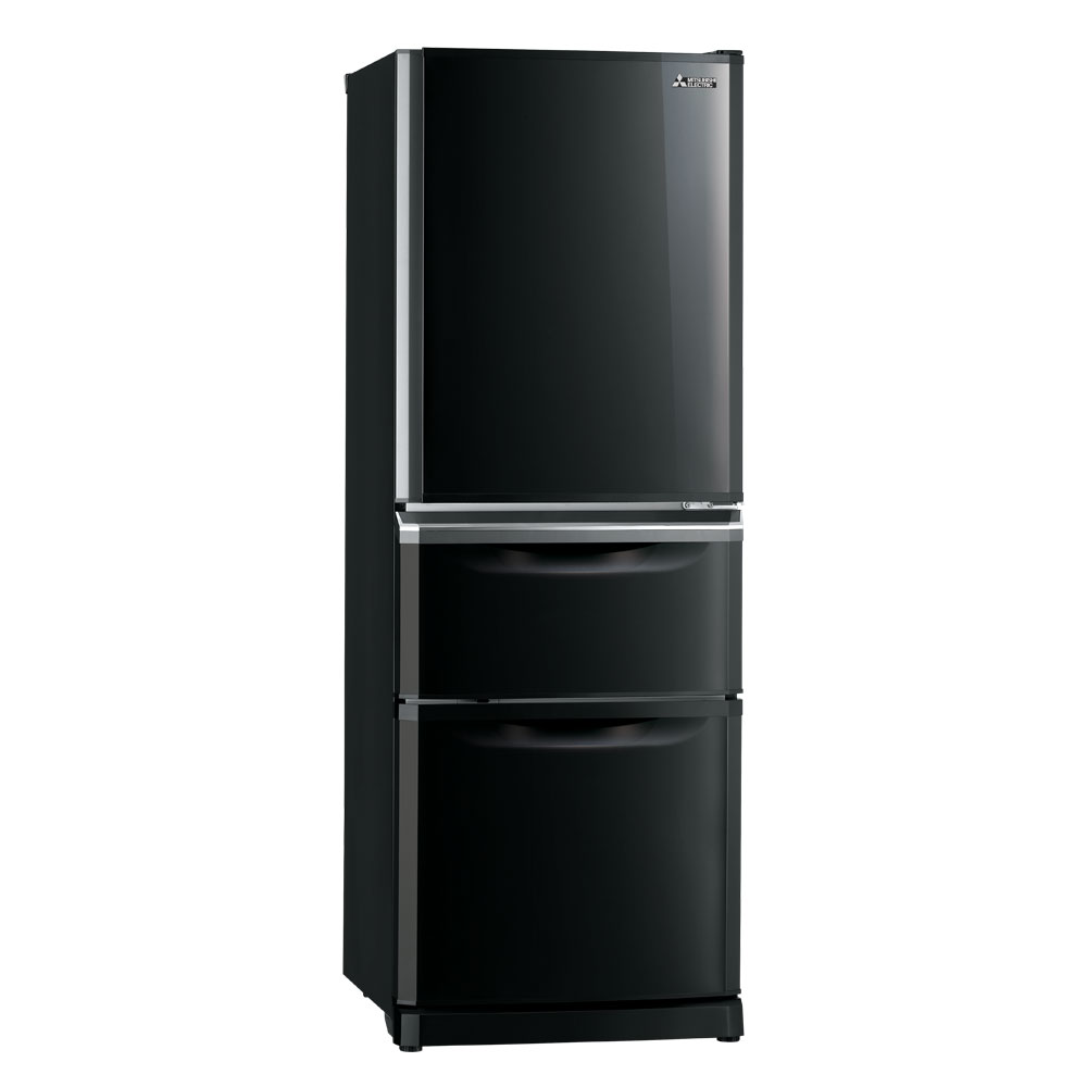 MR-C375C-OB-A : Two Drawer 375 Refrigerator // Mitsubishi Electric