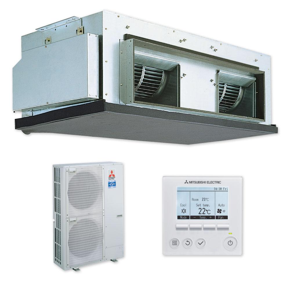 Pea Rp125gaa Ducted Pea125 Heat Pump Mitsubishi Electric