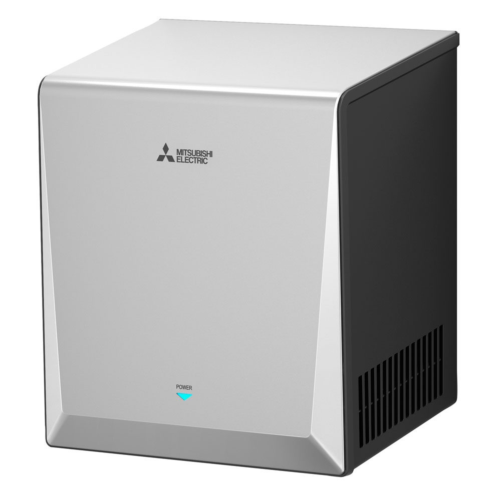 Mitsubishi Dryer: JT-S2AP-S : Smart High Speed Hand Dryer // Mitsubishi Electric