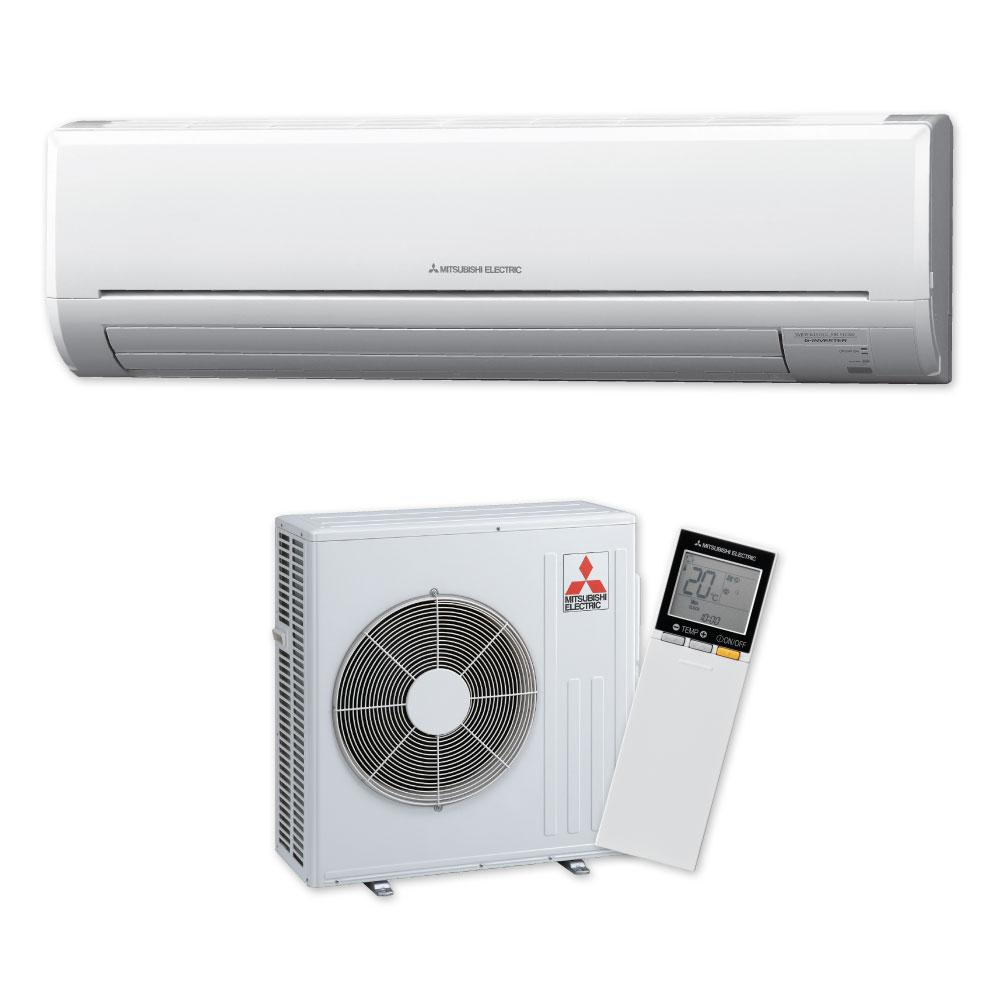Electric Heat Pumps ~ Msz ge vad classic high wall heat pump mitsubishi