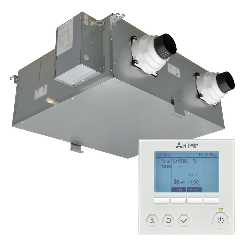 Fresh Air Ventilation System : Vl czgv e fresh air home ventilation with lossnay