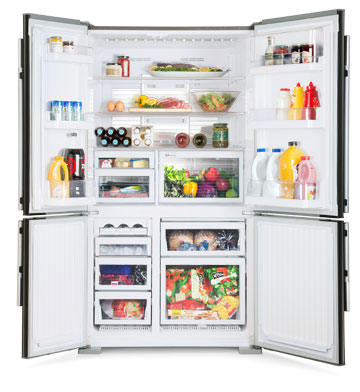 Mr L650eh Db A French Door 650l Fridge Mitsubishi Electric Fridge