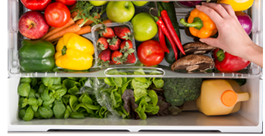 The Drawer Provides Ideal Surroundings For Fruit And Vegetables With A  Higher Humidity Than The Main Refrigerator Compartment, Ensuring Fruit And  ...