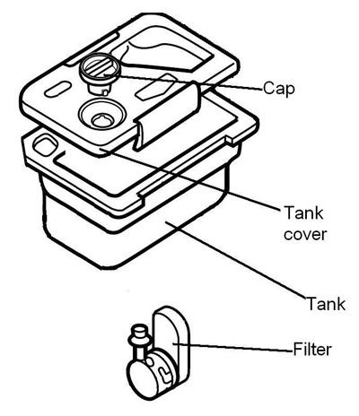 Wiring Harness Fuel Tank Grommet