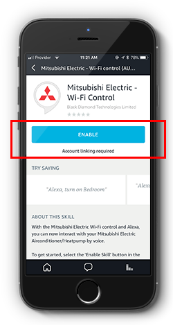Amazon Alexa enabled Wi-Fi Heat Pump Voice Control // Mitsubishi