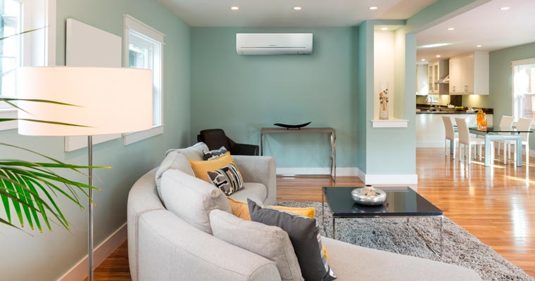 MSZ-GE High Wall Heat Pumps // Mitsubishi Electric on