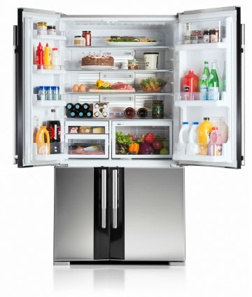 Classic French Door Fridges Mitsubishi Electric Refrigeration